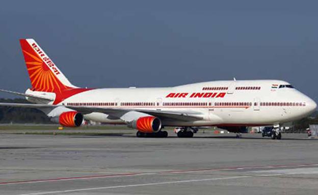 """מטוס """"אייר אינדיה"""". ארכיון"""