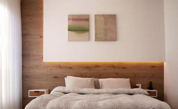 חדר שינה (צילום: אריאל ליפשיץ)