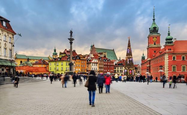 ורשה (צילום: Velishchuk Yevhen, Shutterstock)