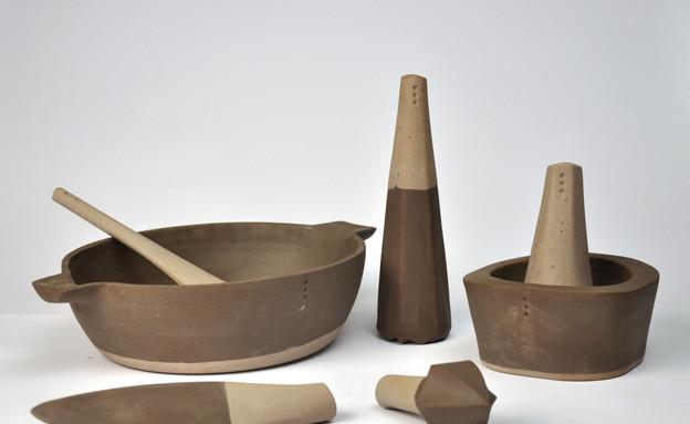 טריאנלה, כלים של אור חצרוני (צילום: טל ימין)