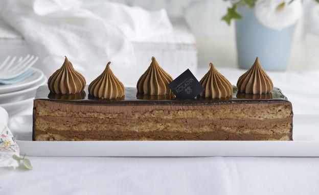 עוגת אסטרהזי  כשרה לפסח (צילום: רונן מנגן, אוכל טוב)