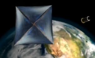בקרוב: ספינת מפרש - לחלל? (צילום: חדשות 2)