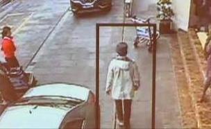 חיפושים אחר האיש עם הכובע בבריסל (צילום: חדשות 2)