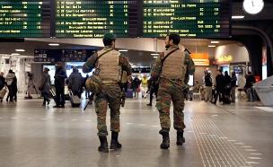 נמל התעופה בבריסל (צילום: רויטרס)