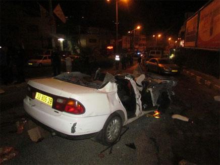 אישה נהרגה בתאונה בכביש חוצה בנימין