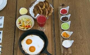 נראה כמו: ארוחת בוקר ישראלית (צילום: בייק אוף ישראל)