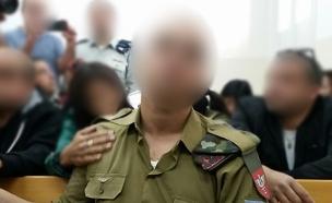 החייל החשוד שירה במחבל בחברון (צילום: חדשות 2)