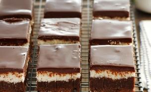בראוניז שוקולד קוקוס (צילום: נטלי לוין, עוגיו.נט)