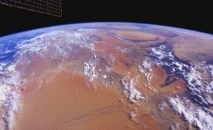 """מבט אל כדור הארץ מתחנת החלל ב-4K (צילום: נאס""""א)"""