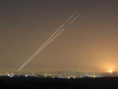 כיפת ברזל יירטה מספר רקטות שנורו לעבר אשקלון