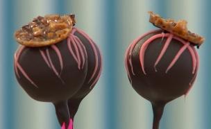 מוס שוקולד על מקל (צילום: בייק אוף ישראל)