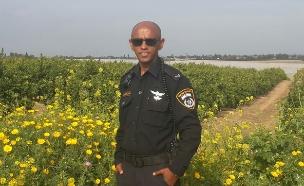 השוטר שעלה ארצה (צילום: דוברות המשטרה)