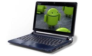 אנדרואיד על מחשב נייד, אילוסטרציה (צילום: tuexperto02, Flickr)