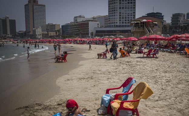 חוף הים בתל אביב (צילום: Ilia Yefimovich, GettyImages IL)