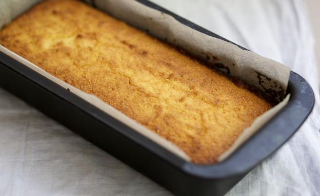 עוגת ריקוטה ולימון לפסח (צילום: קרן אגם, אוכל טוב)