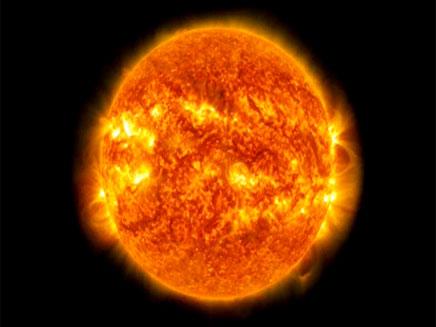 צפו: סערה על פני השמש