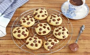 ממחר דיאטה - עוגיות שוקולד (צילום: ענבל לביא, אוכל טוב)