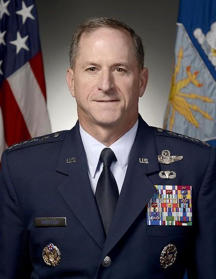 מפקד חיל האוויר האמריקאי (צילום: חיל האוויר האמריקאי)