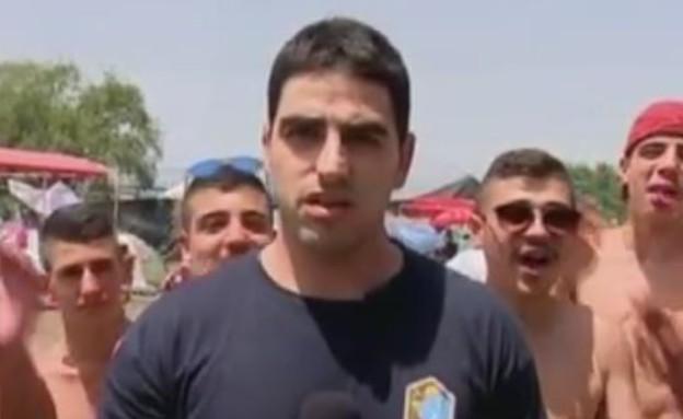 פנחס ג'ינו (צילום: מתוך ערוץ 10)