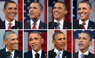 צפו: מיטב העקיצות של אובמה (צילום: רויטרס)