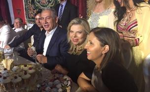 בני הזוג נתניהו וגילה גמליאל ביבנה (צילום: חדשות)