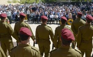 """טקס יום השואה (צילום: חיים צח-לע""""ם)"""