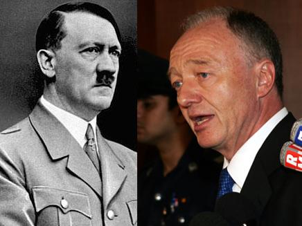 ליווינגסטון לא נסוג מאמירותיו על היטלר