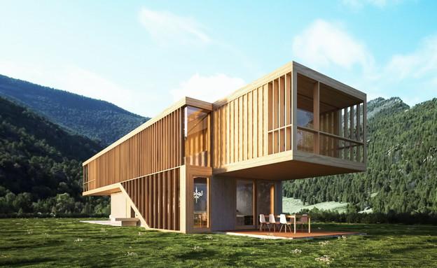 The Folk house (צילום: spora architects)