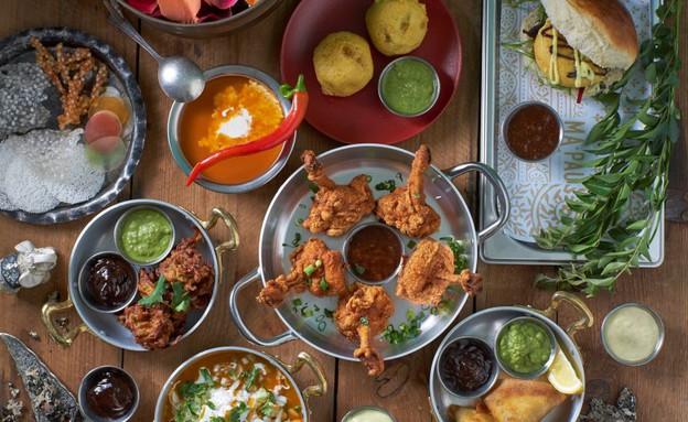 מה פאו מסעדה הודית אוכל הודי (צילום: אנטולי מיכאלו,  יחסי ציבור )