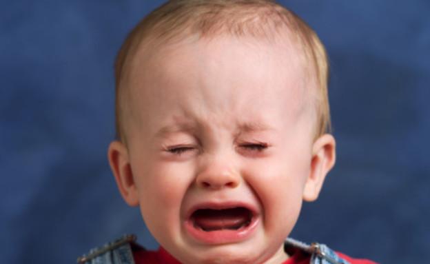 תינוק בוכה (צילום: אימג'בנק / Thinkstock)
