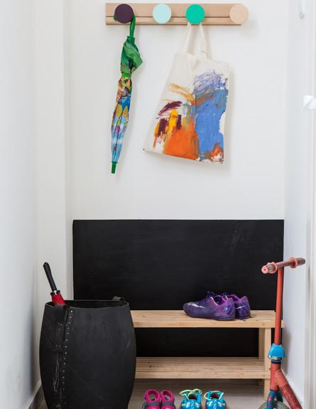 לימור לריאה, ג, אחסון נעליים (18) (צילום: קרן בן-ציון)