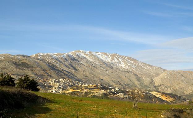 הר החרמון באביב (צילום: pokku, Shutterstock)