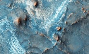 """מאדים כחול (צילום: נאס""""א)"""