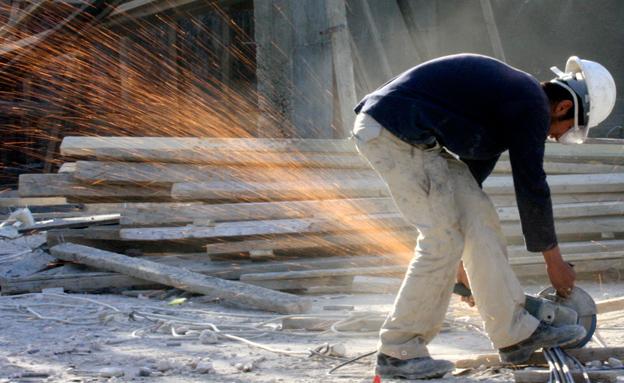 ענף הבנייה מוסיף לגבות קורבנות (צילום: פלאש 90 נתי שוחט)