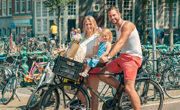 אופניים אמסטרדם ארקיע (צילום: Shutterstock)