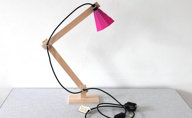 ורוד 04, גוף תאורה שולחני, מחיר-484 שקל (צילום: Studiomet, etsy.com)