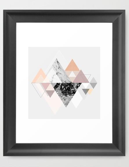 גיאומטרי 02, הדפס גיאומטרי צבעוני, מחיר-החל מ-76 שקל (צילום: societ)