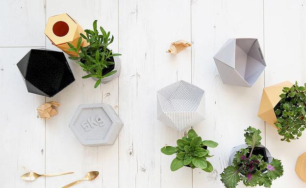 גיאומטרי 06, קעריות נייר לאחסון של טווילינגן, מחיר- 59 שקל לזוג (צילום:  tweelingen-design.com)