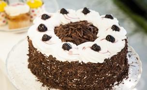 עוגת היער השחור (צילום: אפיק גבאי, בייק אוף ישראל)