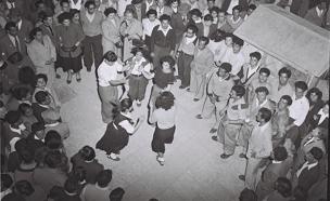 """חוגגים עצמאות ב-1953 (צילום: לע""""מ)"""
