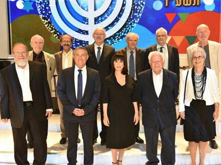 אלו הזוכים בפרס ישראל
