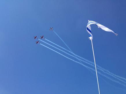 מטס יום העצמאות (צילום: עומרי מנטין)