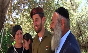 עמוס ואברהם סיני (צילום: חדשות 2)