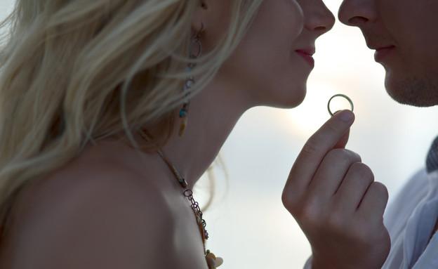 חתונה, זוג, מתחתנים, נישואים (צילום: Shutterstock)