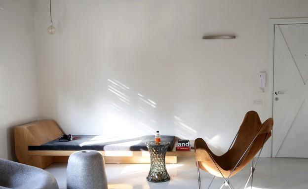 לופט בבניין באוהאוס (צילום: איריס חסיד סגל)
