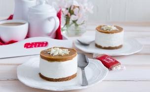 עוגת גבינה לוטוס ללא אפייה (צילום: יעל אילן, אוכל טוב)