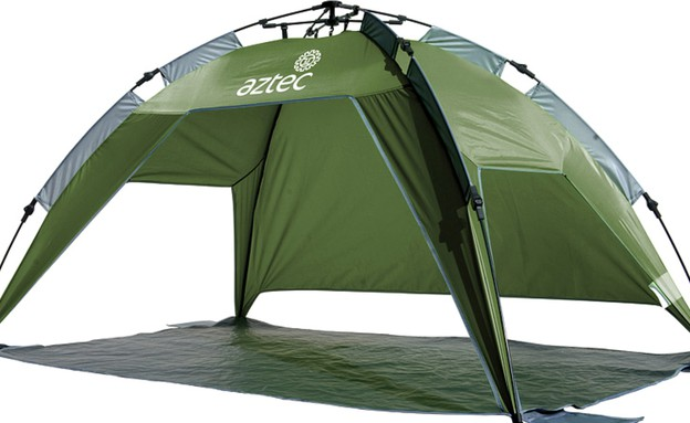 קיץ, אוהל חוף של אצטק, 399 שח, להשיג ברשת אאוטסיידרס,  (צילום: ירון גרין)