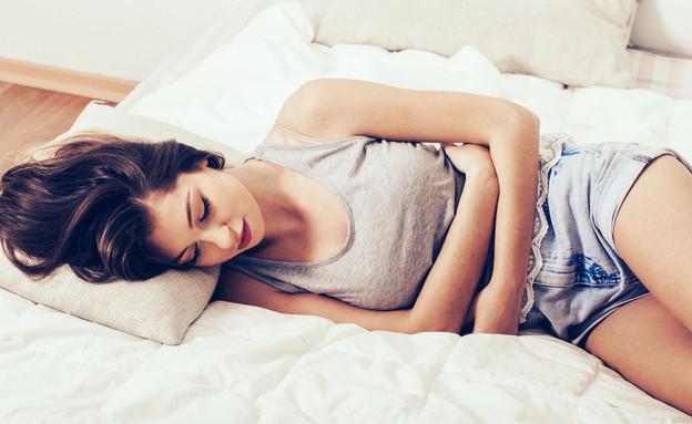 כאב בטן (צילום: Shutterstock)