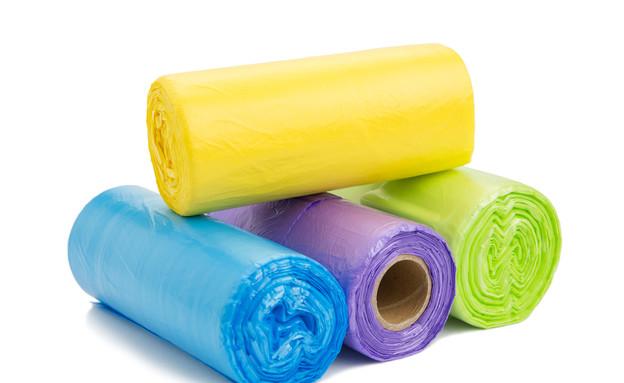 שקיות זבל (צילום: Shutterstock)