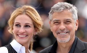 ג'וליה רוברטס וג'ורג' קלוני (צילום: אימג'בנק/GettyImages, getty images)